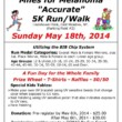 "10th Annual Miles For Melanoma ""Accurate"" 5K Run/Walk"