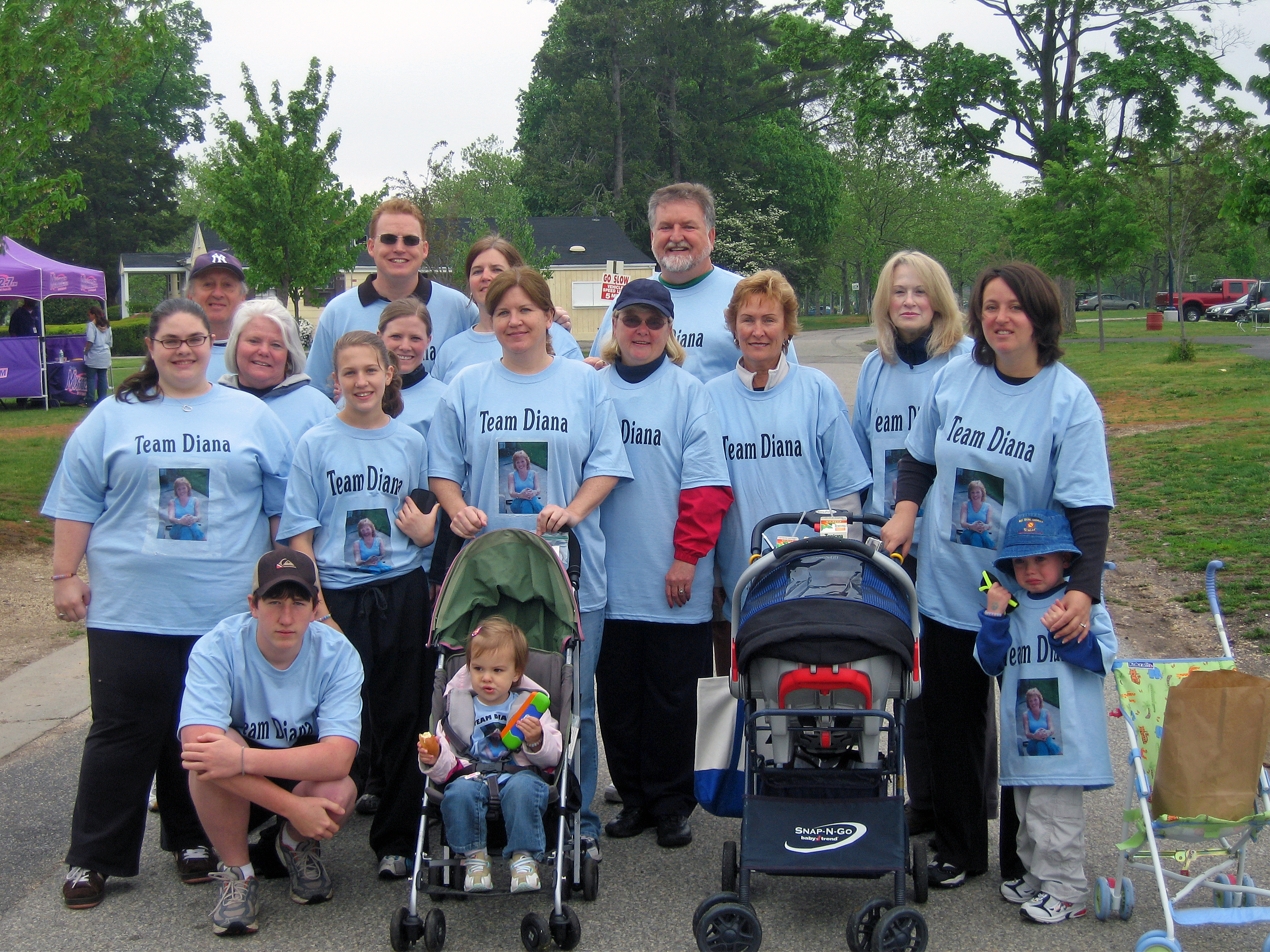 Team Diana Honoring the Memory of Diana Shannon