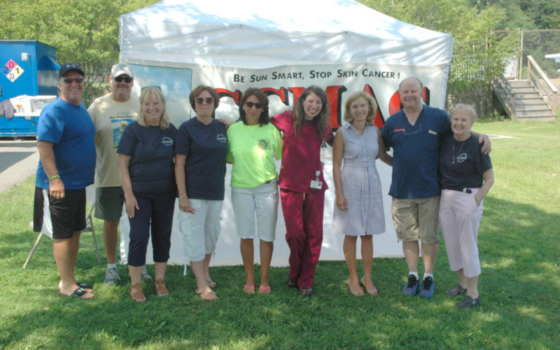 ccmac volunteers senator phillips and dr ted daly far right of garden city dermatology - Garden City Dermatology